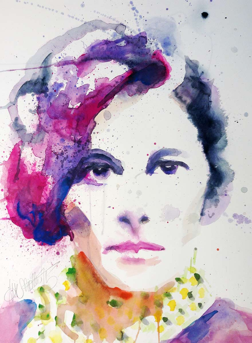 Aquarell Portraits
